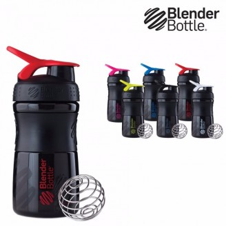 Shaker Blender bottle Sportmixer 590 ML BLACK