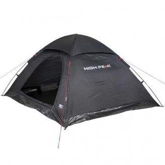 Stan High Peak Monodome 4 black - 10310